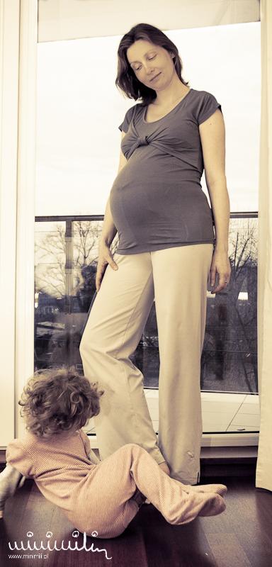 Sesja ciążowa w Rembertowie