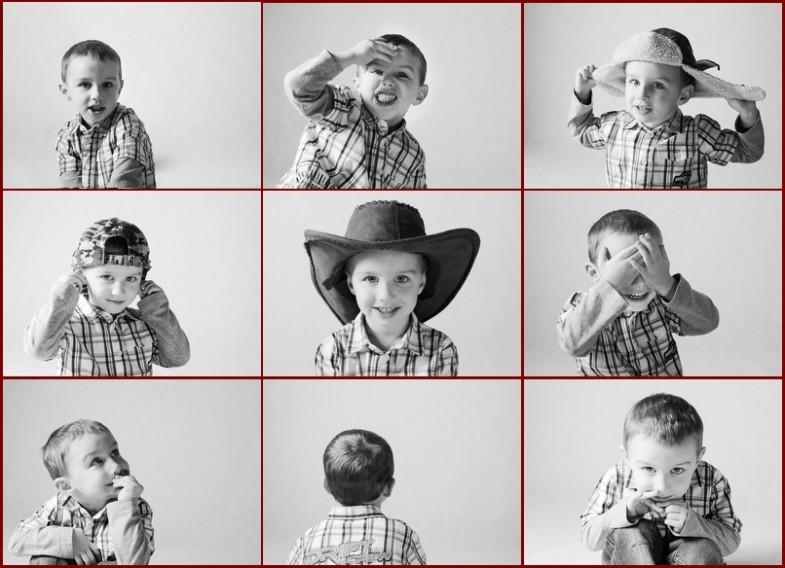 9 twarzy Julka - sesja zdjęciowa