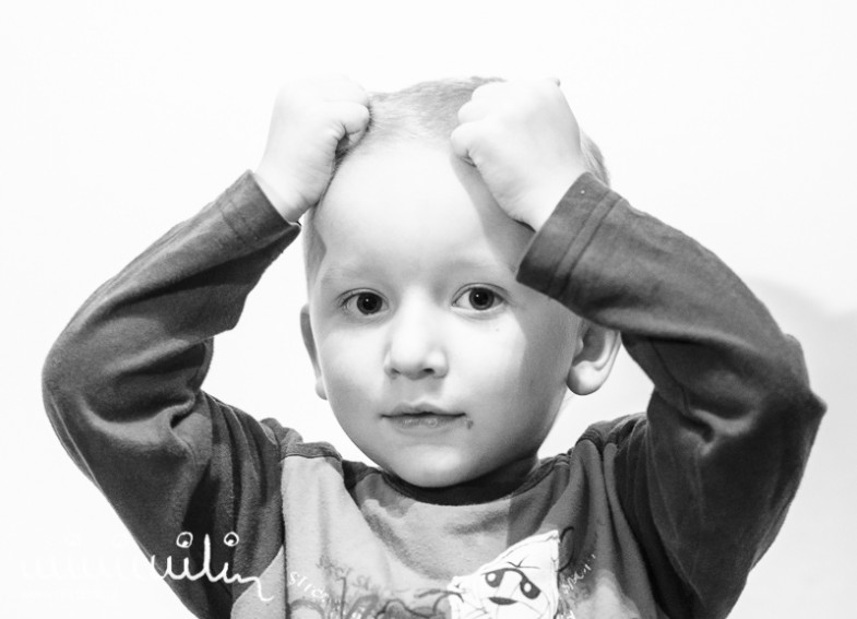 Igor - sesje portretowe 9 twarzy dziecka
