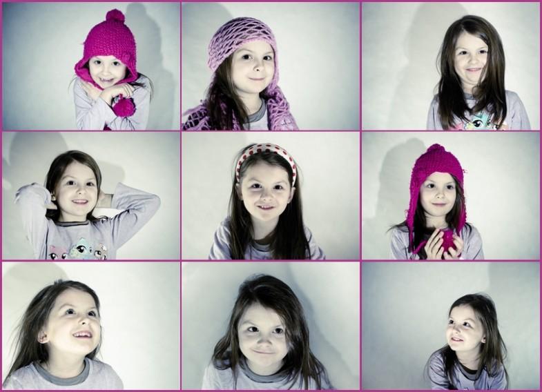 9 twarzy Michaliny - sesja zdjęciowa