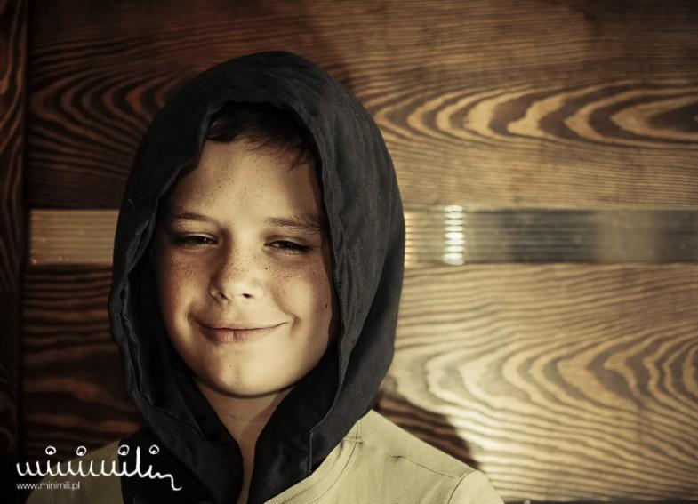 9 twarzy dziecka - sesja zdjęciowa Łukasza